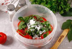 Газированные помидоры холодным способом - фото шаг 4