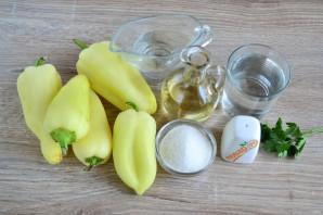 Перец в сладкой заливке - фото шаг 1