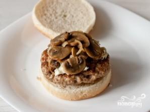 Гамбургер с сыром - фото шаг 5