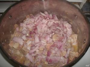 Картофель, тушенный со свининой - фото шаг 4