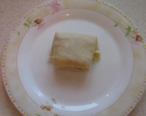 Блинчики с сыром - фото шаг 3