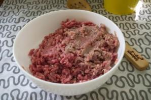 Сырно-мясной рулет - фото шаг 2