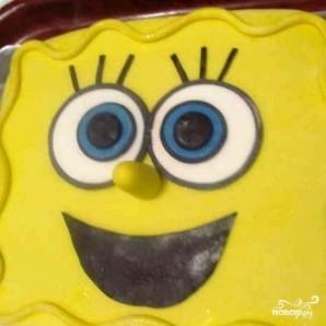 "Торт ""Губка Боб"" - фото шаг 17"
