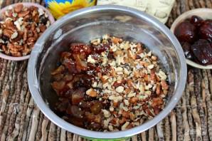 Печенье с орехами и финиками - фото шаг 5