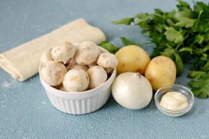 Штрудель с грибами - фото шаг 1