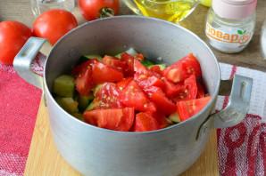 Цукини с помидорами и перцем на зиму - фото шаг 8
