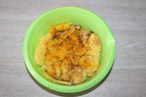 Окунь запеченный с картошкой в духовке - фото шаг 4