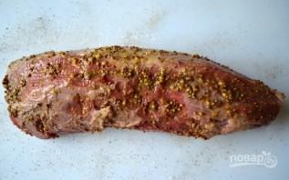Мясо в духовке куском - фото шаг 2