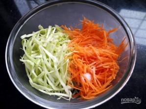 Салат с капустой Коул Слоу - фото шаг 1