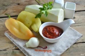 Кабачковая икра с болгарским перцем на зиму - фото шаг 1