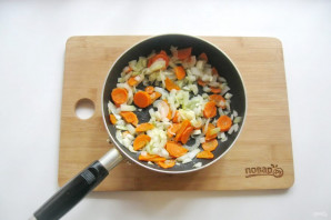 Томатный суп с фасолью и курицей - фото шаг 6