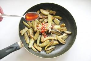 Острая закуска из баклажанов - фото шаг 8