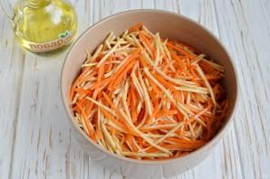 Салат с сельдереем - фото шаг 6