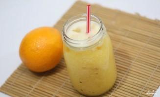Апельсиновый фреш в блендере - фото шаг 7