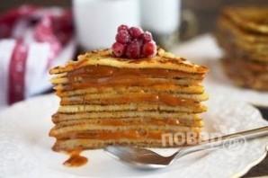 Курский блинный торт - фото шаг 7