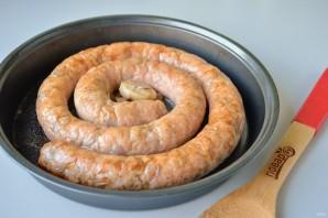 Куриная колбаса с рисом и паприкой - фото шаг 5