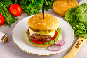 Бургер Джейми Оливера - фото шаг 10