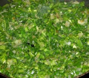 Кутабы с сыром и зеленью - фото шаг 3