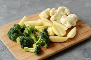 Овощи в пивном кляре - фото шаг 2