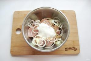 Шашлык на решетке в духовке - фото шаг 5