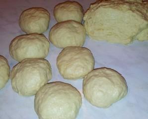 Пирожки с черникой на сковороде - фото шаг 4