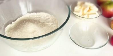 Пирожки песочные с яблоками - фото шаг 1