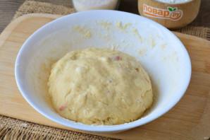 Печенье на кефире с яблоками - фото шаг 7