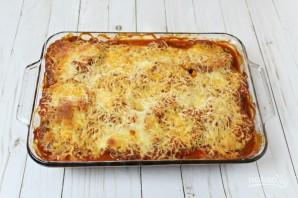 Запеченные баклажаны с томатным соусом и сыром - фото шаг 6