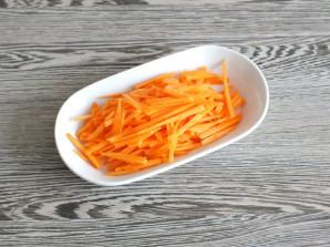 Мясной салат с дайконом - фото шаг 4