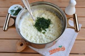 Домашний сыр из молока и сметаны - фото шаг 7