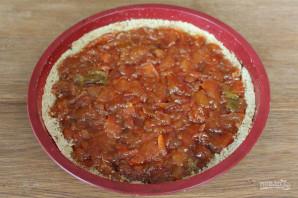Постный грушевый пирог - фото шаг 7