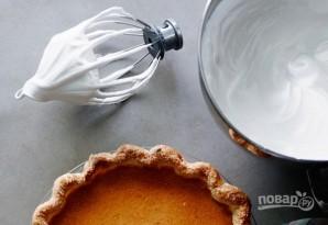 Пирог с тыквой и меренгой - фото шаг 3