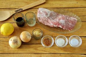 Шашлык из свинины на решетке - фото шаг 1