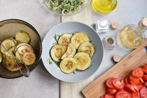 Салат из кабачков и помидоров - фото шаг 7