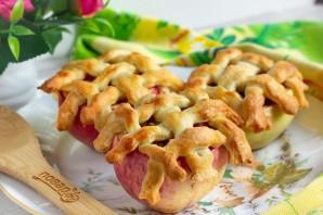 Яблоки, фаршированные карамелизированной сливой - фото шаг 8