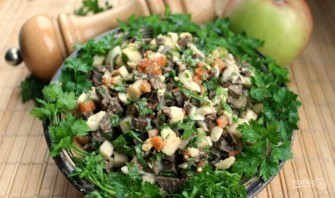 Салат из печени говядины - фото шаг 7