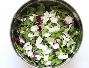 Салат с кедровыми орешками - фото шаг 2