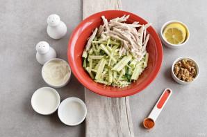 Салат с китайской капустой - фото шаг 2