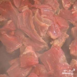 Мясо по-венгерски - фото шаг 3