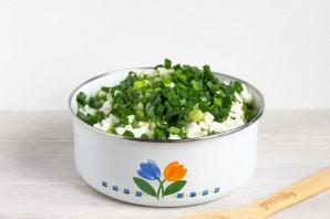 Зеленый салат с пекинской капустой - фото шаг 6