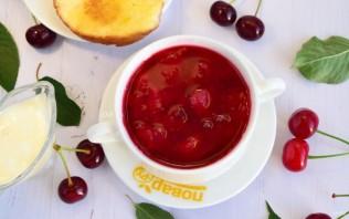 Вишневый суп - фото шаг 5