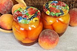Персики в сиропе на зиму - фото шаг 7