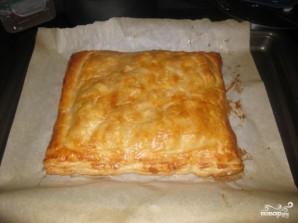 Пирог с семгой и рисом - фото шаг 4