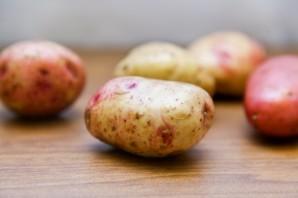 Картошка-гармошка в мультиварке - фото шаг 1