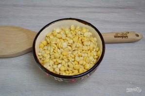 Гороховый суп с копченостями - фото шаг 1