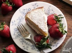 Бисквитный торт со взбитыми сливками - фото шаг 9