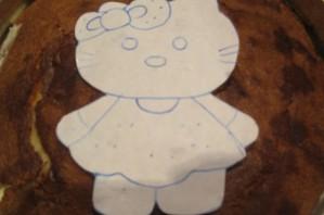 Торт на день рождения девочке 4 года - фото шаг 5