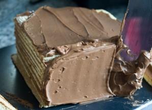 Бисквитный торт с шоколадом - фото шаг 20