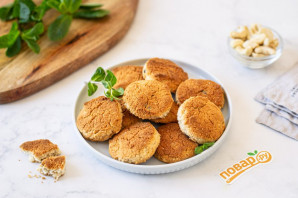 Веганское кокосовое печенье