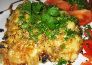 Мясо с грибами и сыром - фото шаг 17
